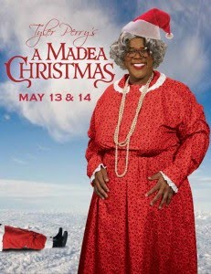 tyler perry will don his madea outfit may 13 14 for a madea christmas this will be a live taping so you will see it on your store shelves very soon - Madea Christmas Play
