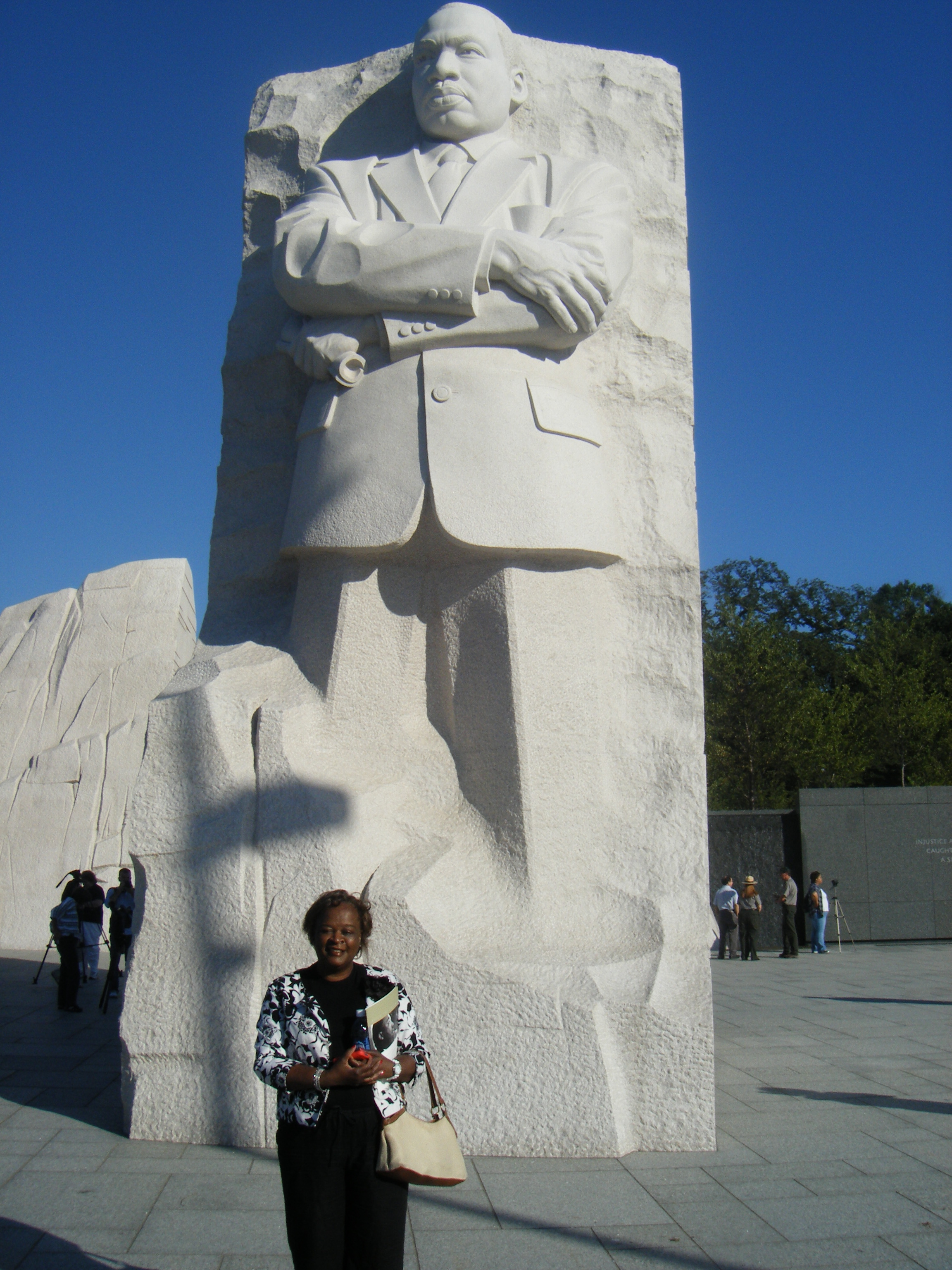 My Visit To The Martin Luther King Jr Memorial Politics From The