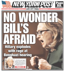 hillary new york post