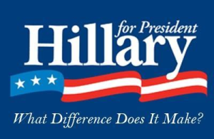 hillary what difference