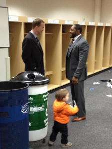 peyton Manning and Ray lewis
