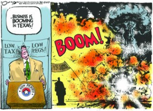 Rick Perry cartoon