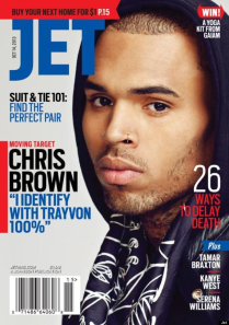 chris brown on jet