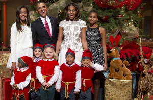 first family and the elf 2013