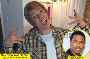 nick cannon whiteface