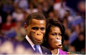 obamas as monkeys