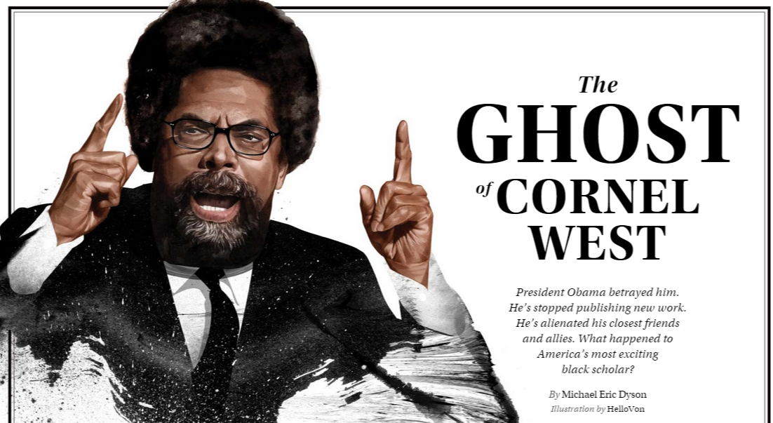 an analysis of racial politics in the ghost of cornel west by michael eric dyson The ghost of cornel west what happened to america's most exciting black scholar for his distance from malcolm's racial politics during which radio host tom joyner began to mix it up with the author michael eric dyson.