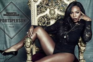 Serena williams ebony photos