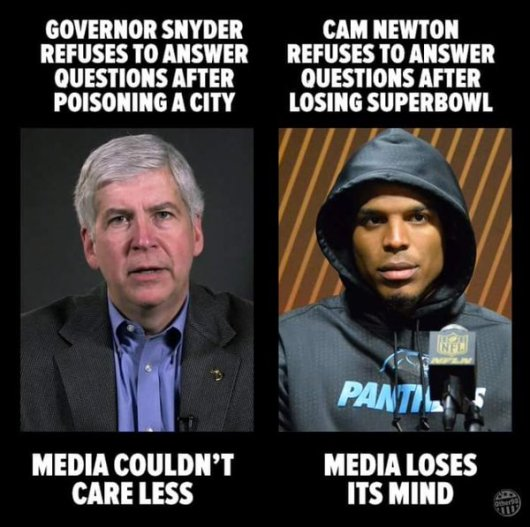 cam newton and mi gov
